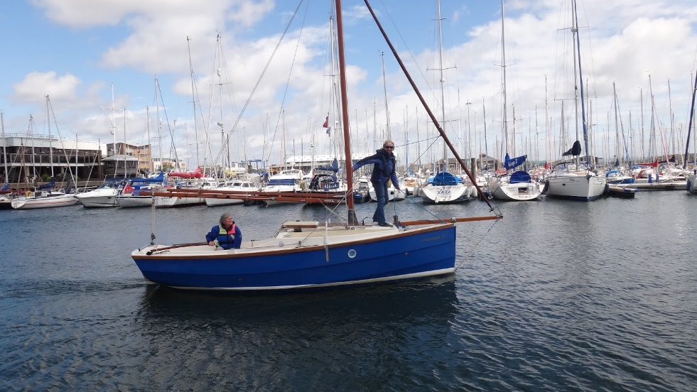 Newly Launched from the PYC slipway