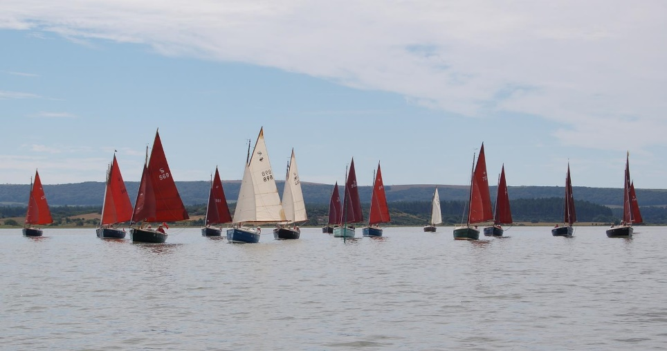 Poole Shrimpers' round the islands pursuit last year