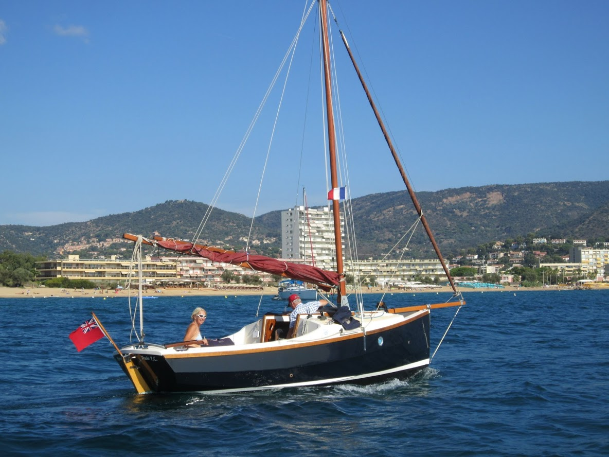 PYC based 'Merriwinds' a long way from home in the South of France for a holiday